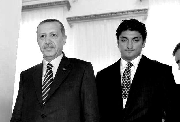 FLeaks Arif Efendi, President Erdogan_cropped_BW