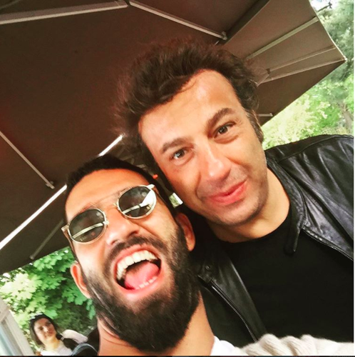 Arda Turan and Ahmet Bulut: a partnership making millions (Instagram)