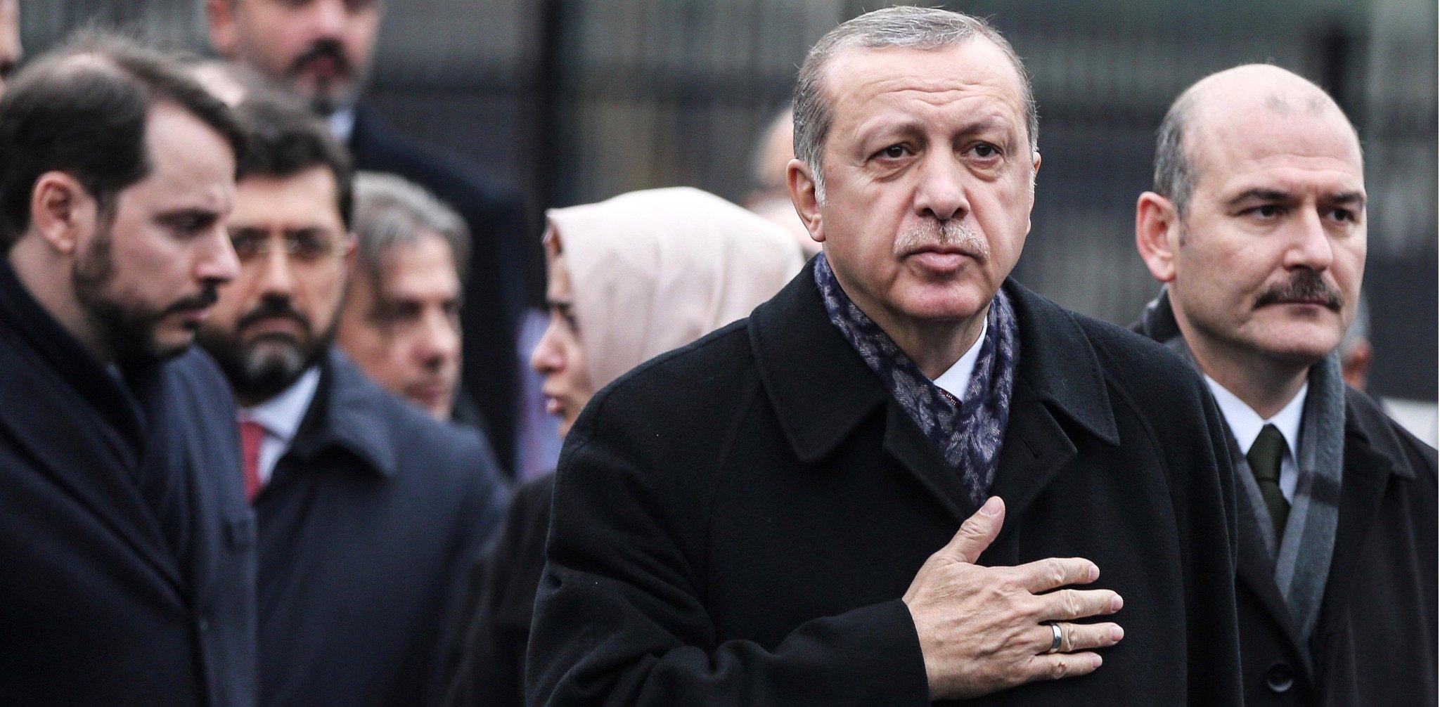 रेसेप तैयप एर्दोगान ने बोला तुर्की के अधिकारियों ने इस्लामिक स्टेटमुखियाकी पत्नी को  हिरासत में रखा, जाने