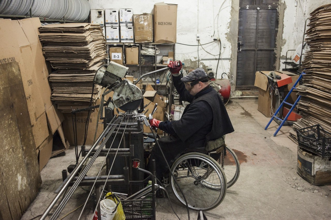 wheelchair factory